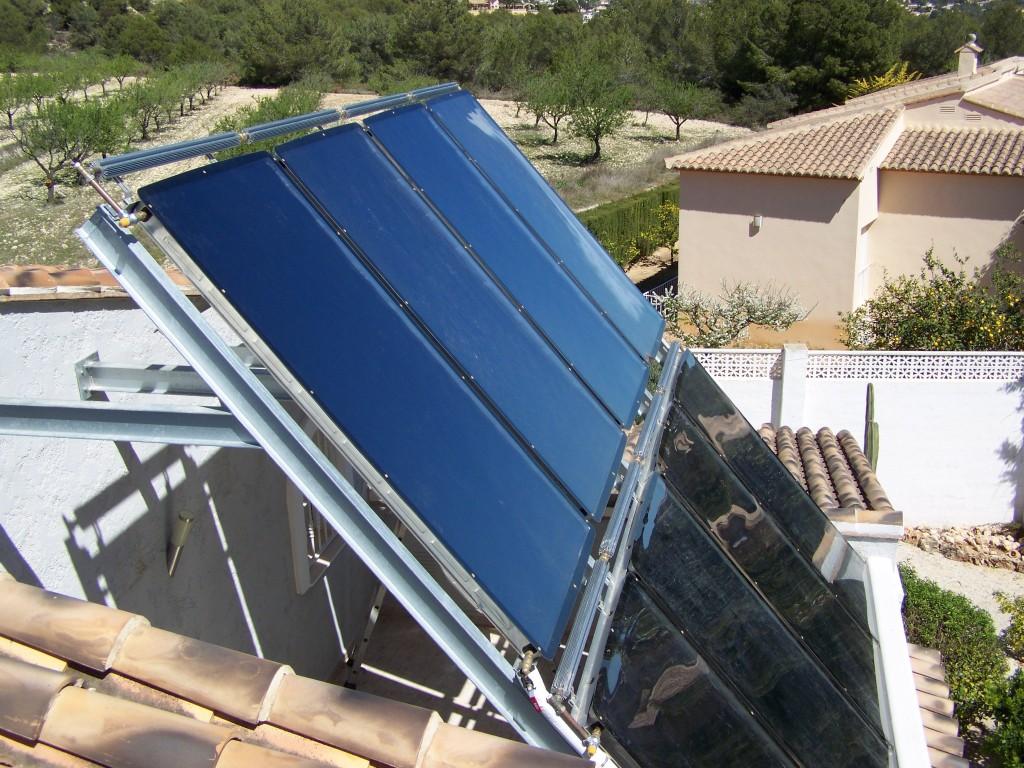 Climatización de vivienda por aerotermia y energía solar con fan-coils